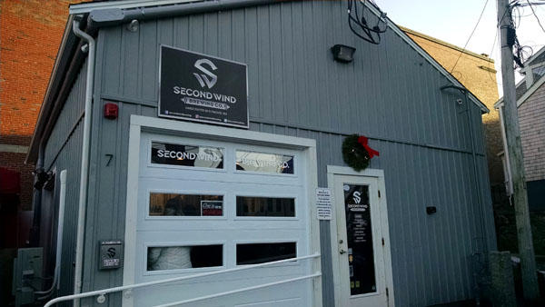Second Wind Brewing Garage